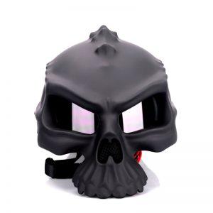 Front Skull - Reversible Skull Biker Helmet
